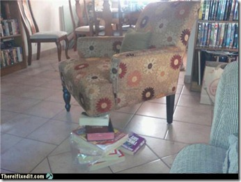 unsafe chair