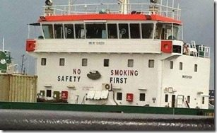 no safety smoking first
