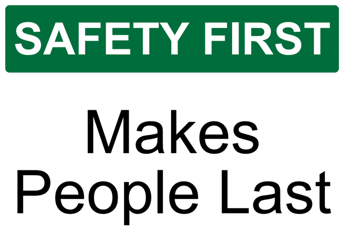 safety first people last